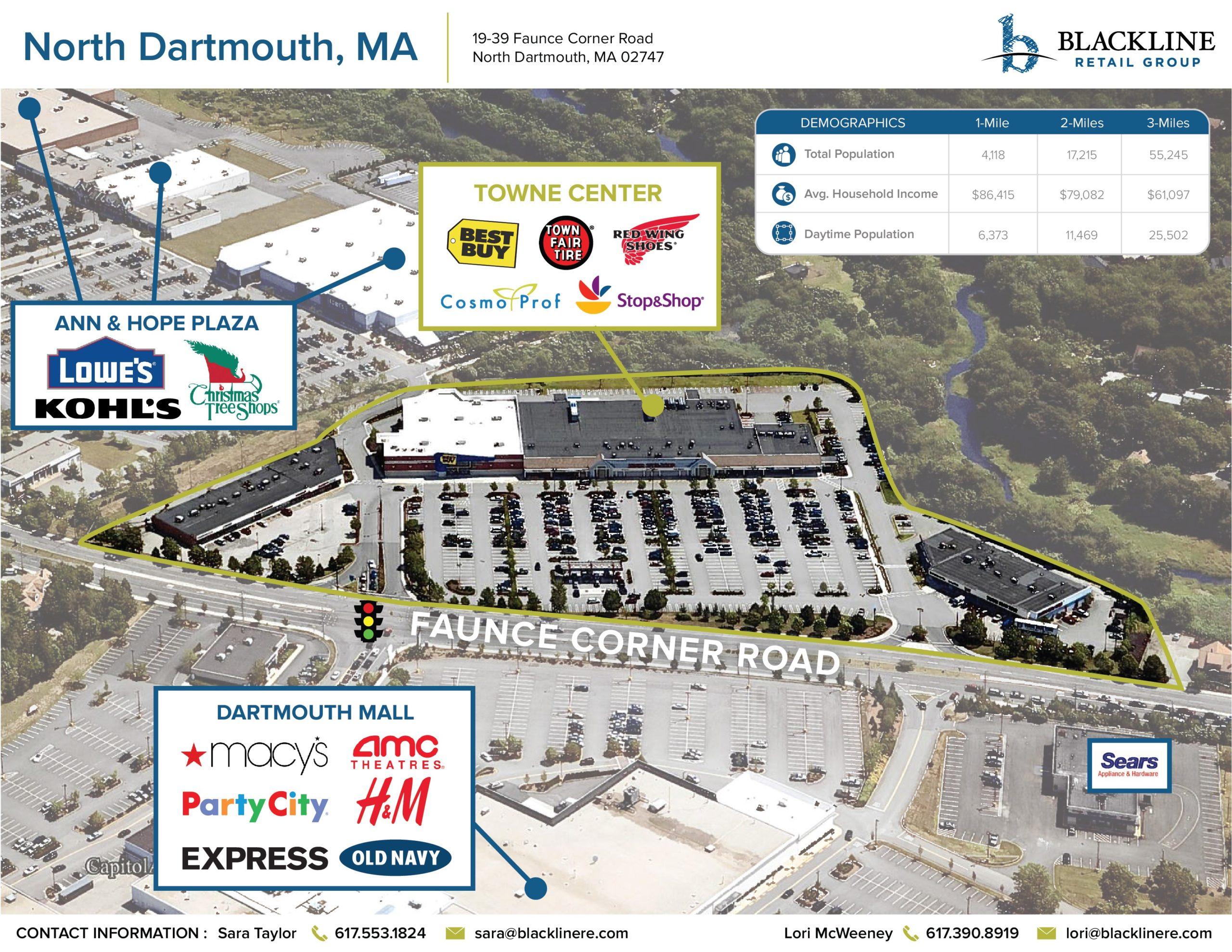 North Dartmouth MA Towne Center