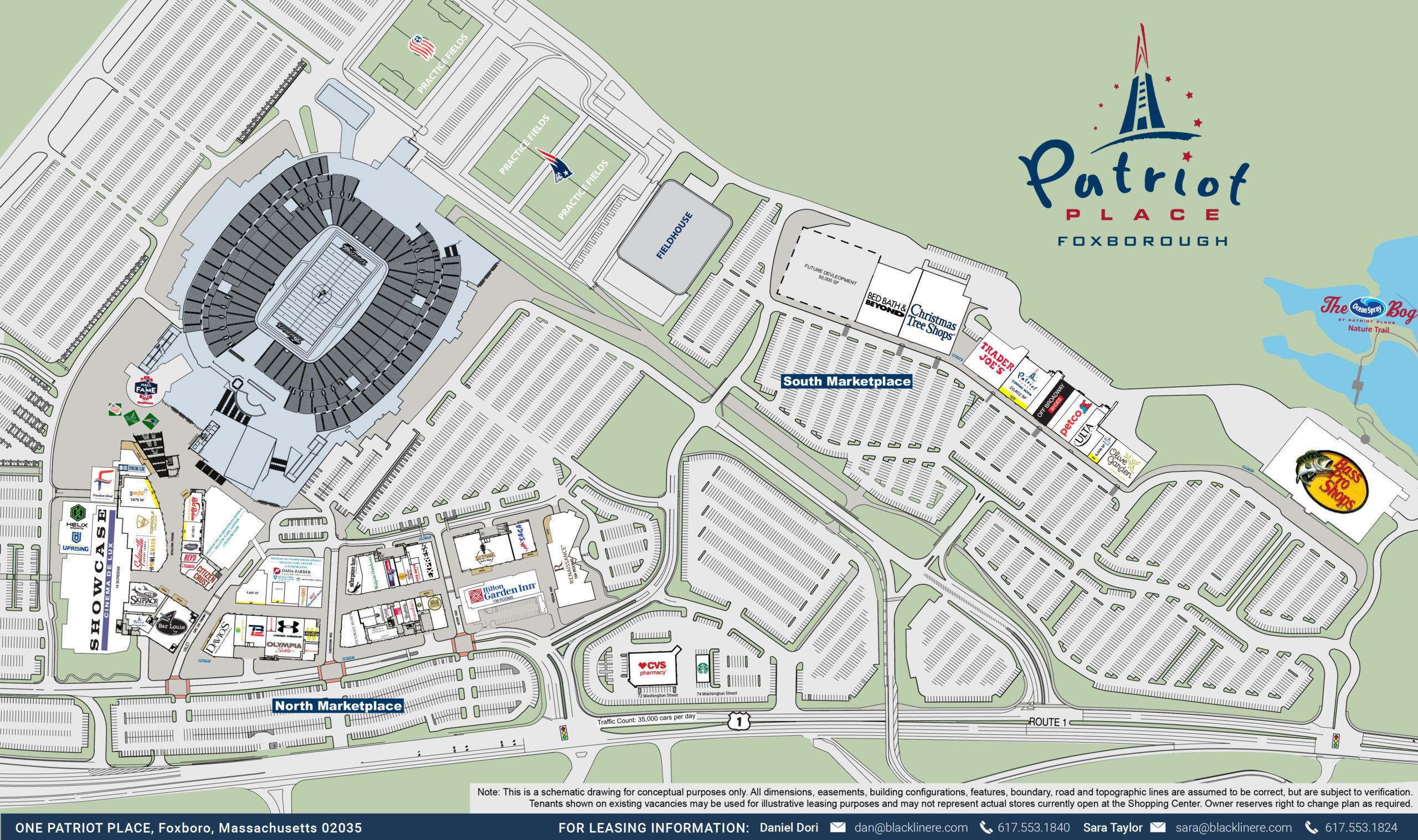 Patriot Place Master Site Plan