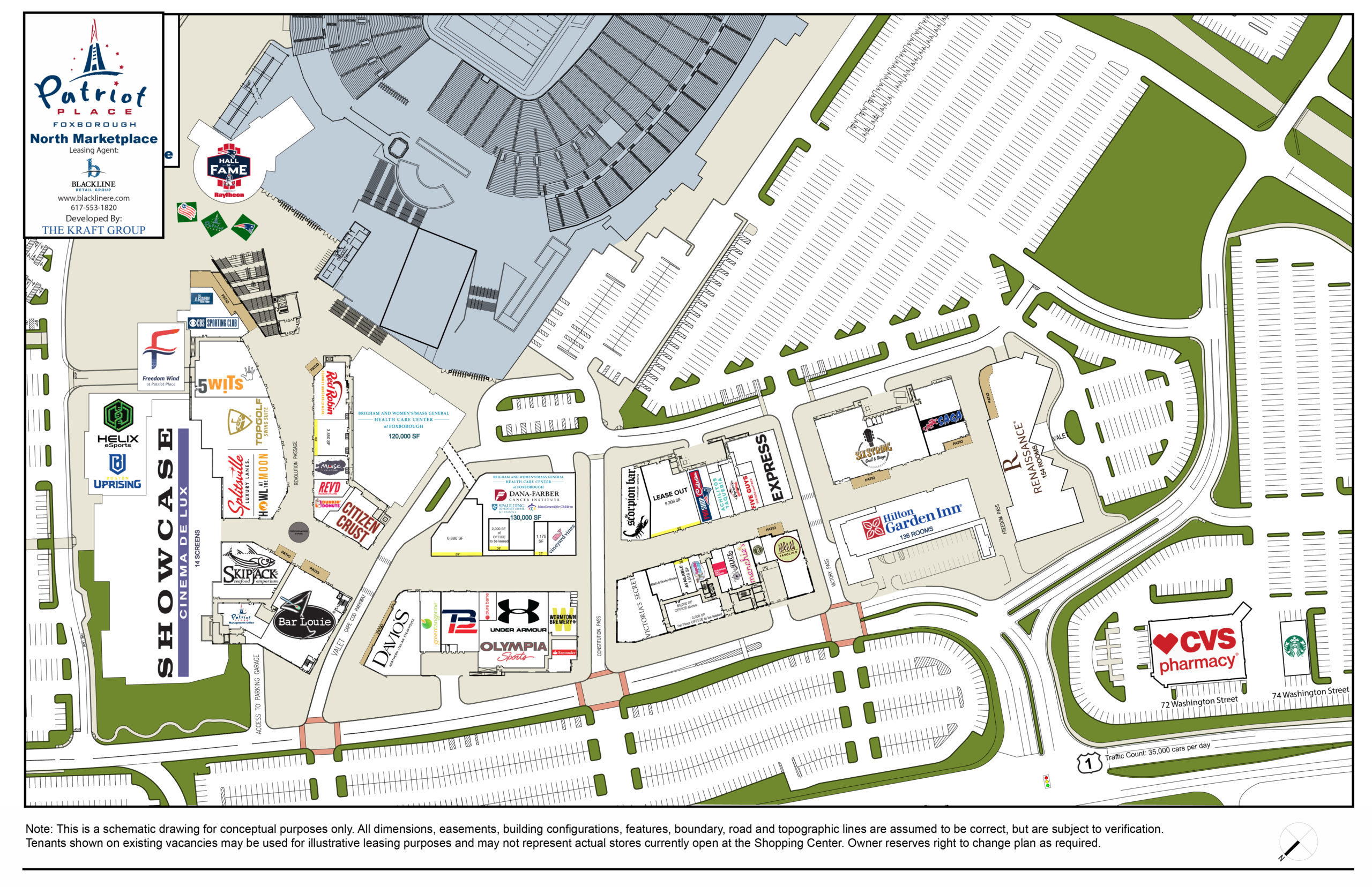 Patriot Place North Lease Plan Gd