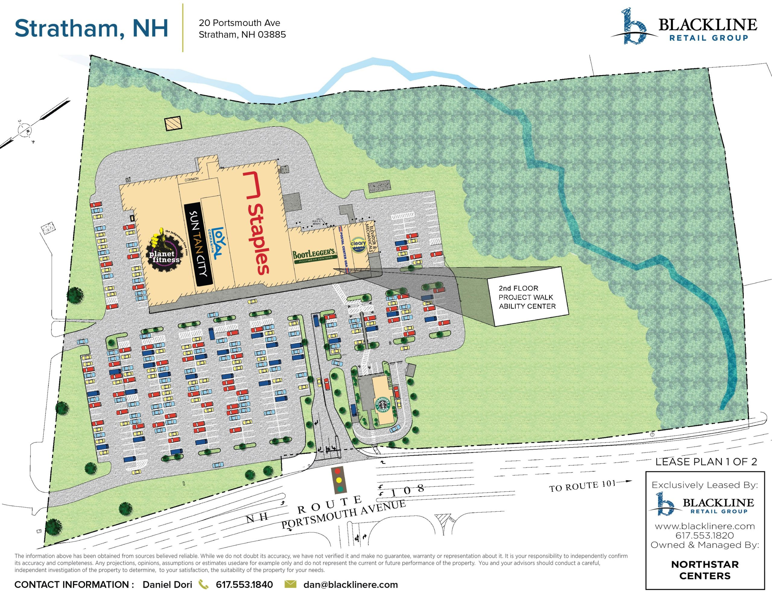 Parkman Brook Shopping Center store space for rent with Blackline Retail Group