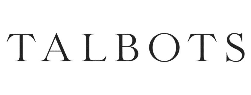 Talbots Logo Large X