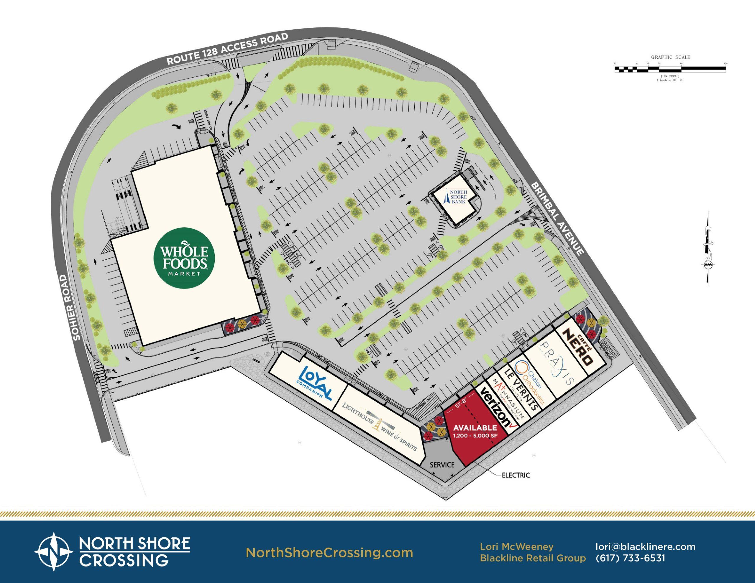 North Shore Crossing Plan
