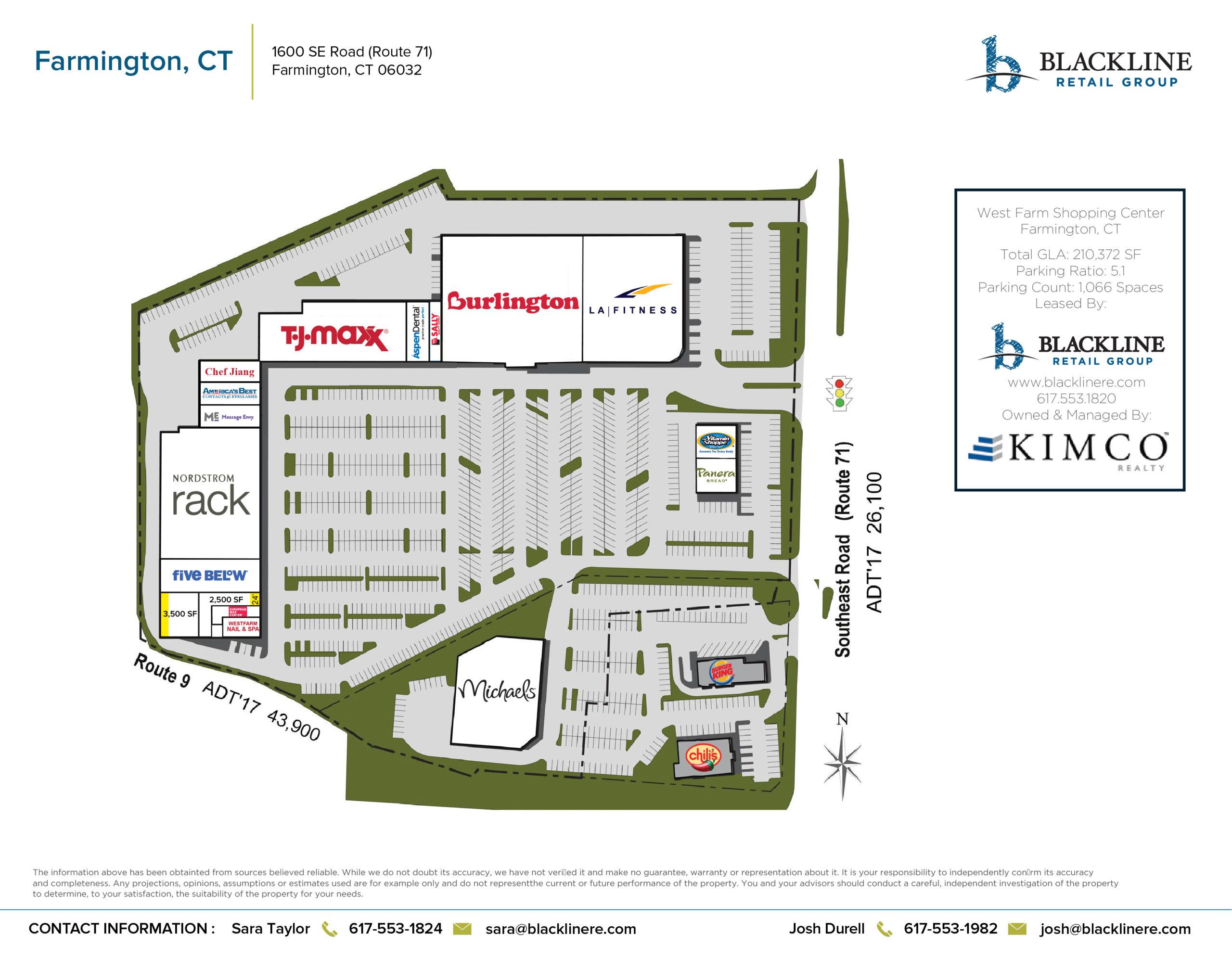 Farmington, Ct West Farm Shopping Center